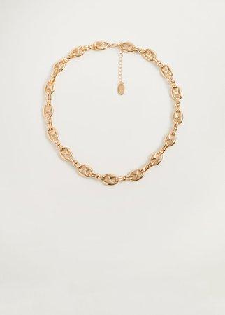 Link necklace - Women | Mango USA