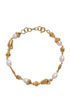 Mythologie 14K Gold-Plated Bracelet by Pamela Love | Moda Operandi