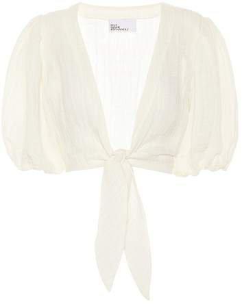 Gauze blouse