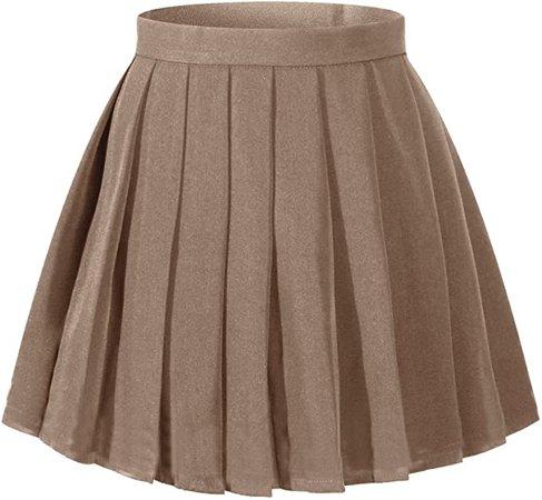 Amazon.com: Girl's A-line Kilt Plaid Pleated Skirts (XS,Light Blue Mixed Green): Clothing
