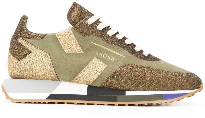 Ghoud Glitter Low-Top Trainers