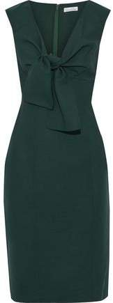 Knotted Wool-blend Cady Dress