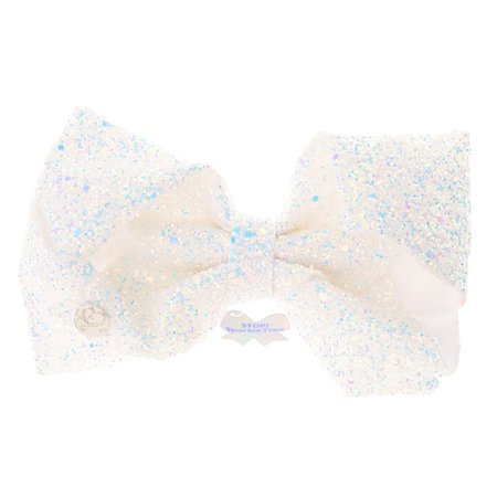 JoJo Siwa™ Stop! Sparkle Time Hair Bow | Claire's US