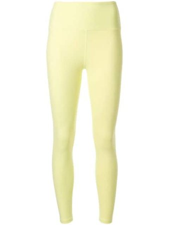 Year Of Ours Yos Sport Leggings TN1504LS Yellow   Farfetch