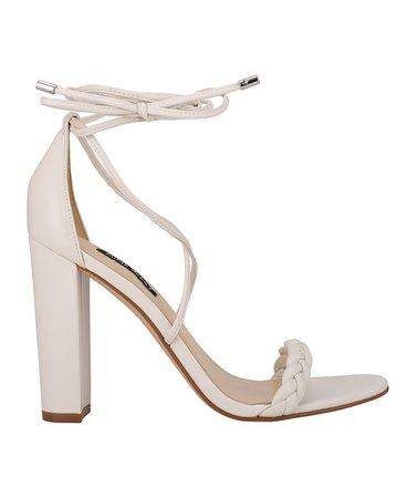 Nine West Women's Monikka Ankle Wrap Heeled Sandals & Reviews - Sandals - Shoes - Macy's