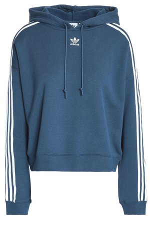 Cropped cotton-fleece sweatshirt | ADIDAS ORIGINALS | Sale up to 70% off | THE OUTNET
