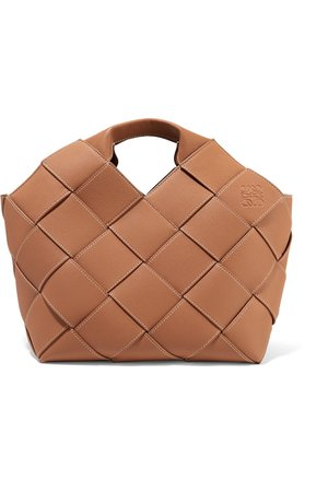 Loewe   Woven textured-leather tote   NET-A-PORTER.COM