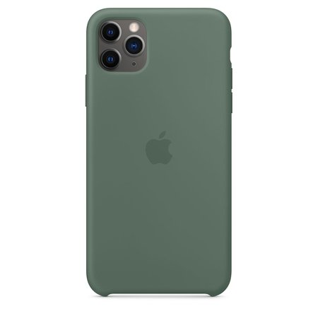 iPhone 11 Pro Max Silicone Case - Pine Green - Apple