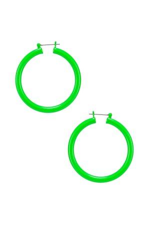 Luv AJ Rainbow Amalfi Hoop Earrings