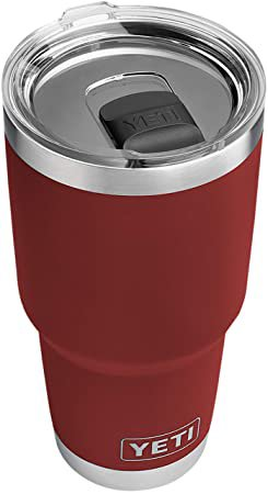 Amazon.com: YETI Rambler 30 oz Stainless Steel Vacuum Insulated Tumbler w/MagSlider Lid, Charcoal: Sports & Outdoors