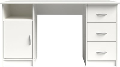 Parisot Buster White Storage Desk | Home & Office Stores
