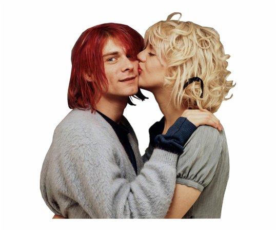 #kurt Cobain #courtney #nirvana #hole #love #курткобейн - Kurt Cobain Et Courtney Love - Free HD Transparent PNG - Festivalclaca.cat