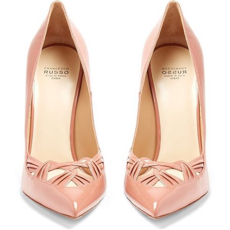 russo pink nude shoes