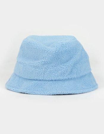 Teddy Womens Blue Bucket Hat - BLUE - JA-605TLYBLUE   Tillys
