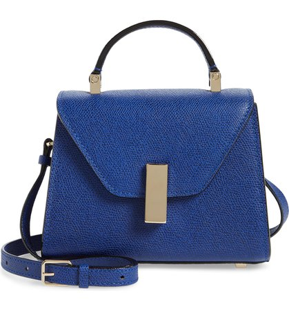 Valextra Micro Iside Leather Top Handle Crossbody Bag   Nordstrom