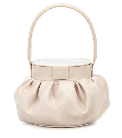 Agnes patent leather tote
