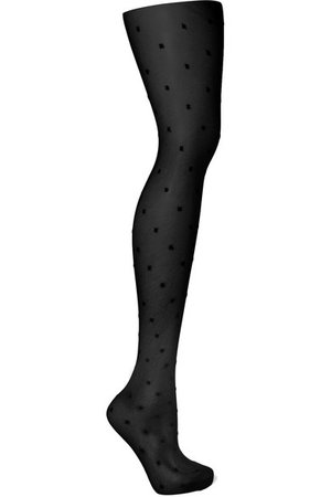 SAINT LAURENT | Polka-dot tights | NET-A-PORTER.COM