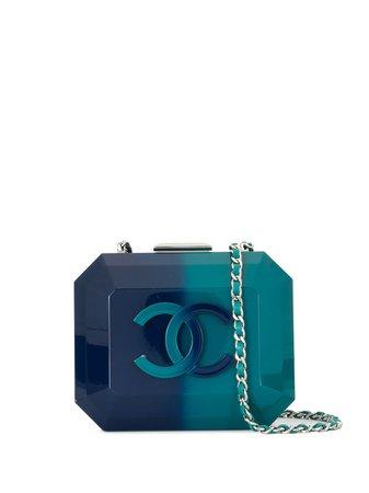 Chanel Pre-Owned 2014 Structured Gradient Shoulder Bag Vintage | Farfetch.Com