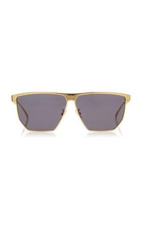 Aviator Metal Sunglasses By Bottega Veneta | Moda Operandi