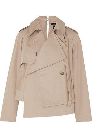 Rokh | Asymmetric cotton-gabardine jacket | NET-A-PORTER.COM