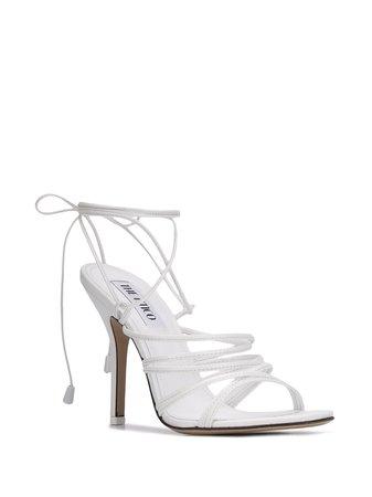 The Attico Fiona 110mm Sandals - Farfetch