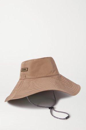GANNI | Shell hat | NET-A-PORTER.COM
