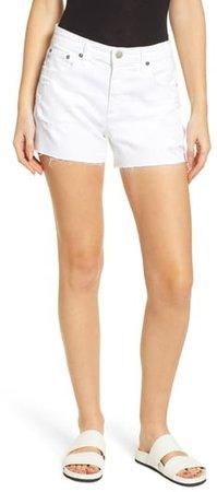 Hailey Boyfriend Cutoff Denim Shorts