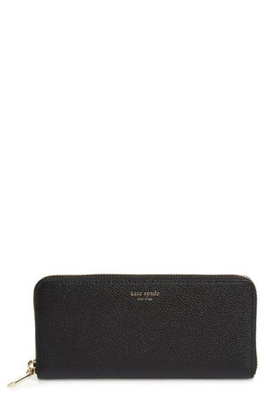 kate spade new york margaux leather continental wallet | Nordstrom