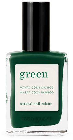 Green Nail Lacquer - Emerald