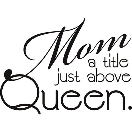 Online Shop Mom Above Queen Mother day gift Love quote decorative adhesive vinyl wall sticker room decal living room decor house decoration | Aliexpress Mobile
