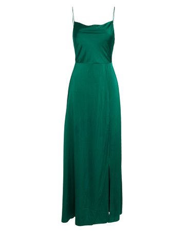 INTERMIX Taylor Silk Georgette Maxi Dress | INTERMIX®