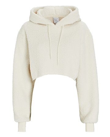 Nylora Melany Cropped Fleece Sweatshirt | INTERMIX®