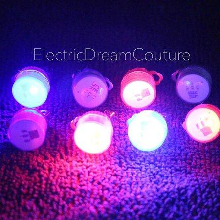 LED Earrings Glow Earrings Clip On light up earrings for | Etsy