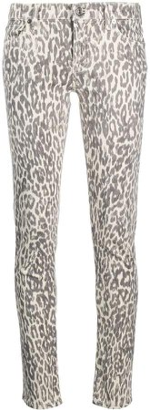 Leopard Print Skinny Jeans