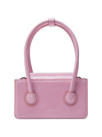 Marge Sherwood Mini Grandma Leather Top Handle Bag | SaksFifthAvenue