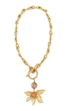 Estela Gold-Tone Necklace By Ulla Johnson