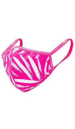 Amanda Uprichard Protective Mask in Pink Palm | REVOLVE