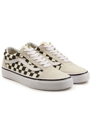 Old Skool Sneakers with Leather Gr. US 7