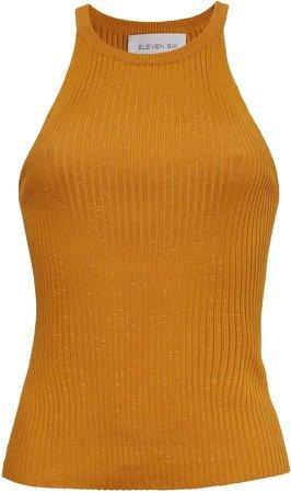 SIX - Lia Tank - Golden Yellow