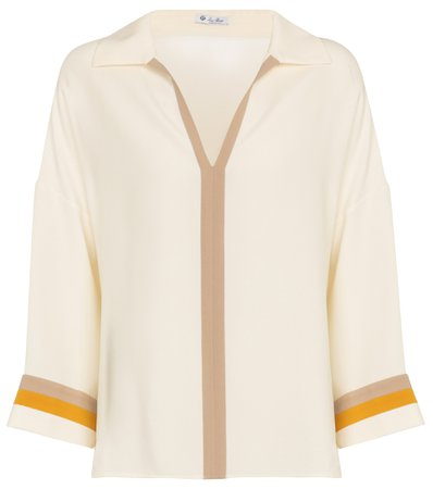 Loro Piana, Silk blouse