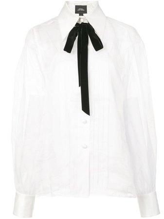 Marc Jacobs bow-tie Detail Blouse - Farfetch