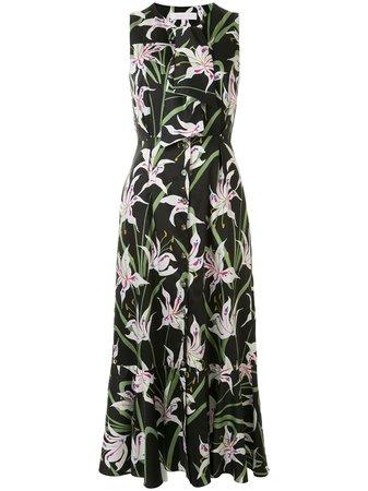 Borgo De Nor Meta floral-print Midi Dress - Farfetch