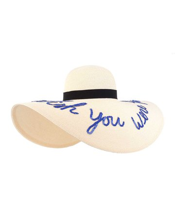 Eugenia Kim Sunny Floppy Sun Hat, Ivory | Neiman Marcus