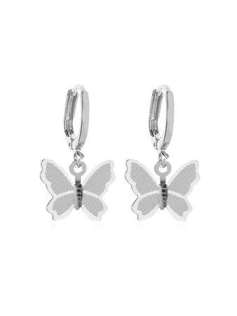 Sweet Butterfly Clip Earrings