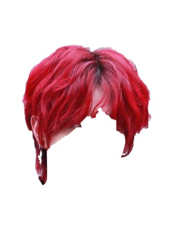 RED HAIR PNG @6ix-d-official