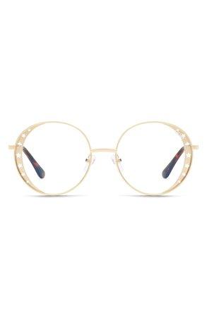 Quay Australia x Lizzo Seeing Stars 54mm Round Sunglasses | Nordstrom