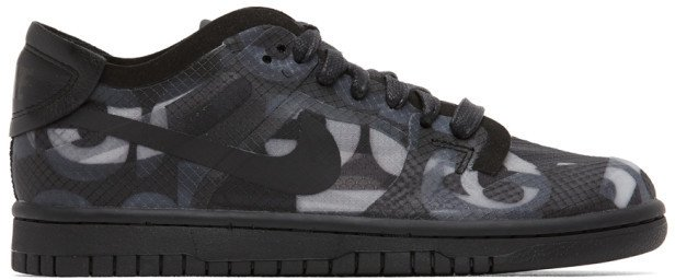 Black Nike Edition Dunk Low Sneakers