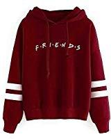 Amazon.com: Sheki Apparel We are Friends TV Show Men's Hoodie Hooded Sweatshirt (Black, XX-Large): Clothing