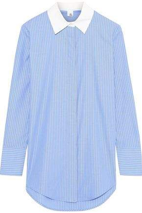 Louiza Striped Cotton Oxford Shirt
