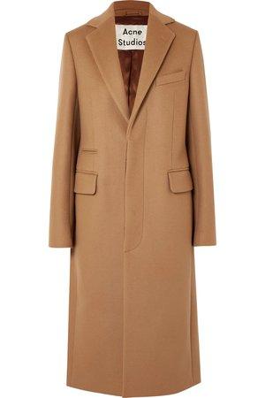 Acne Studios | Wool-blend felt coat | NET-A-PORTER.COM